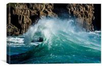 Breaking Wave #1, Canvas Print