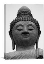 Big buddha, Canvas Print