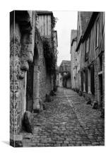 Cobbled street, Canvas Print