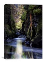 Fairy Glen Betws-y-Coed, Canvas Print