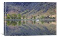 Char Hut, Buttermere, Canvas Print