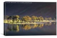 Afternoon Light on Buttermere, Canvas Print