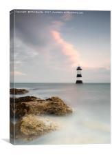 Penmon Lighthouse Sunrise, Canvas Print