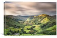 Martindale Valley Light, Canvas Print