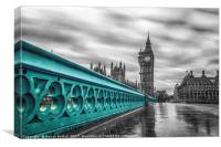 Westminster Bridge , Canvas Print