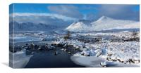 Perfect Glencoe Day, Canvas Print
