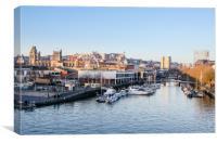 Bristol Floating Harbour, Canvas Print