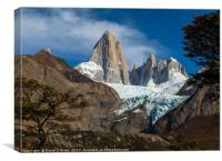 The Fitz Roy, Canvas Print