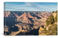 Grand Canyon View, Canvas Print