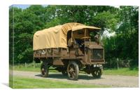 FWD Army Truck, Canvas Print