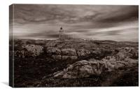 Isle of May Lighthouse, Canvas Print