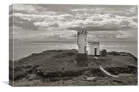 Elie Lighthouse, Canvas Print