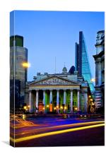 The Bank of England & The Cheese Grater, Canvas Print