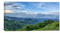 Costa Rica view, Canvas Print