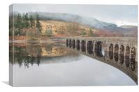 Garreg ddu Viaduct and NantGwyllt Chapel of Ease, Canvas Print