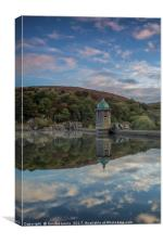 Penygarreg Elan Valley, Canvas Print
