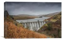 Elan Valley - Craig Goch Welsh Winter, Canvas Print