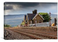 Ribblehead Railway Station North Yorkshire England, Canvas Print