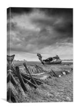 Fleetwood Wrecks, Canvas Print