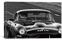Jaguar E-type, Canvas Print