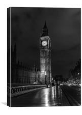 Classic London, Canvas Print