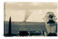 Rolling Out - Lancaster Bomber, Canvas Print