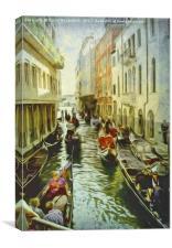 Rush Hour, Canvas Print