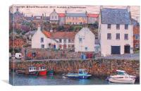 Crail Harbour         , Canvas Print