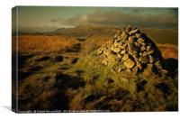 Ardinning Loch Walk, Canvas Print