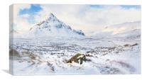 Into Glencoe, Canvas Print