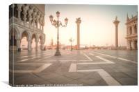 San Marco Sunrise, Canvas Print