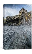 Hellnar Beach, Snæfellsnes Peninsula, Iceland, Canvas Print