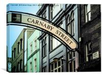 Carnaby Street, Canvas Print