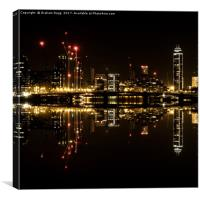London Reflects, Canvas Print