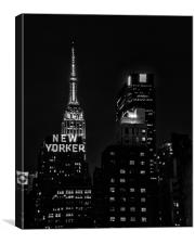 New Yorker, Canvas Print