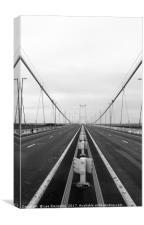 Severn Bridge, Canvas Print
