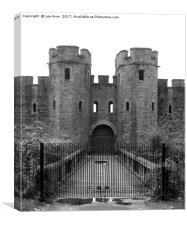 Cardiff Castle, Canvas Print