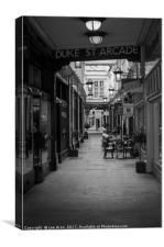 Duke Street Arcade, Canvas Print