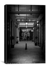 Alleyway, Canvas Print