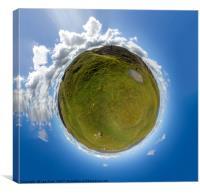 Brecon Mini Planet, Canvas Print