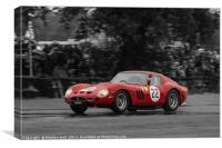ferrari 250 GTO, Canvas Print
