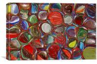 Liquid Marbles, Canvas Print