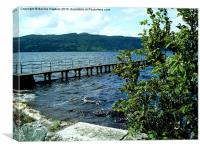 Lough Melvin, Northern Ireland, Canvas Print