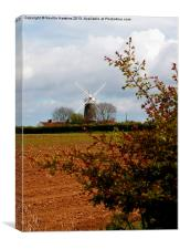 Bircham Windmill (1), Canvas Print