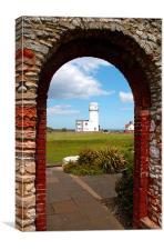 Hunstanton Lighthouse, Canvas Print