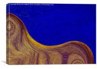 Golden Horse, Canvas Print