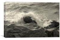 The Sea 1/2, Canvas Print