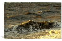 The Sea 2/2, Canvas Print