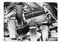 Blocks, Canvas Print