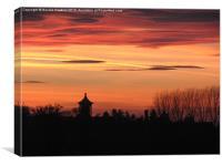 Ingoldisthorpe Sunset, Canvas Print